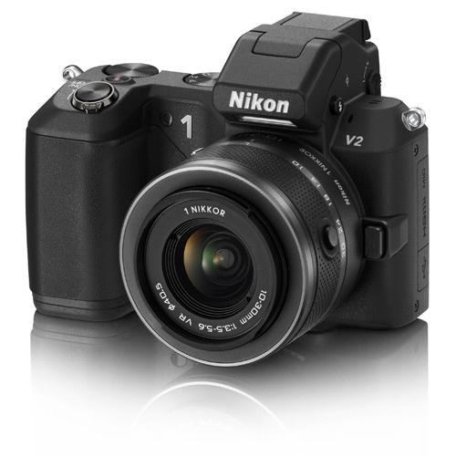 Nikon 1 V2 Inleiding spiegelende ondergrond