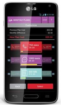 Virgin Mobile app