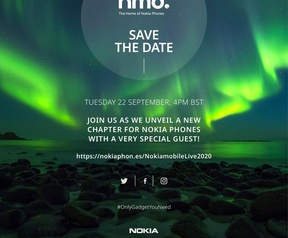 Nokia Save the date, 22 september 2020