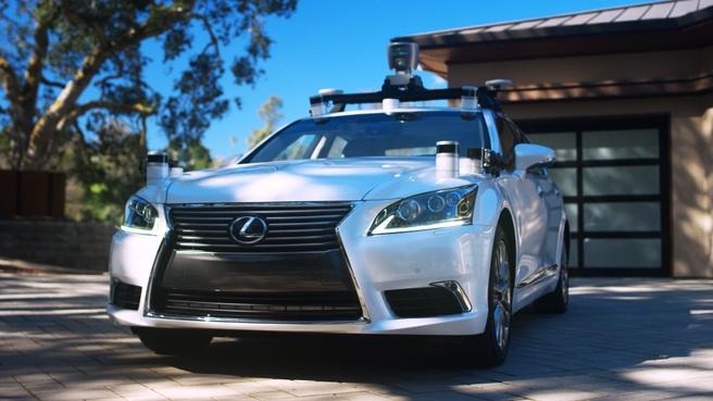 Toyota zelfrijdende auto