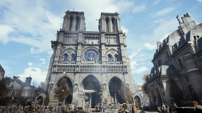Notre-Dame in AC Unity