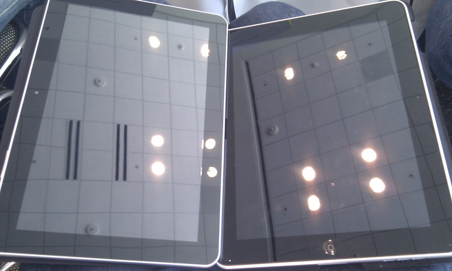 Samsung Galaxy Tab 10.1 (Google I/O-editie) en iPad 1