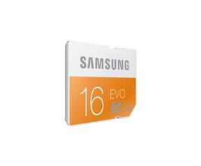 Samsung 16GB, SDHC EVO