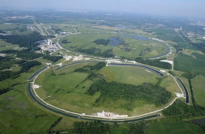 De Tevatron bij Fermilab