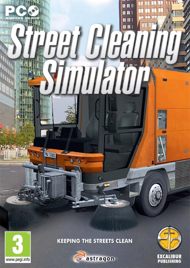 Packshot voor Street Cleaning Simulator