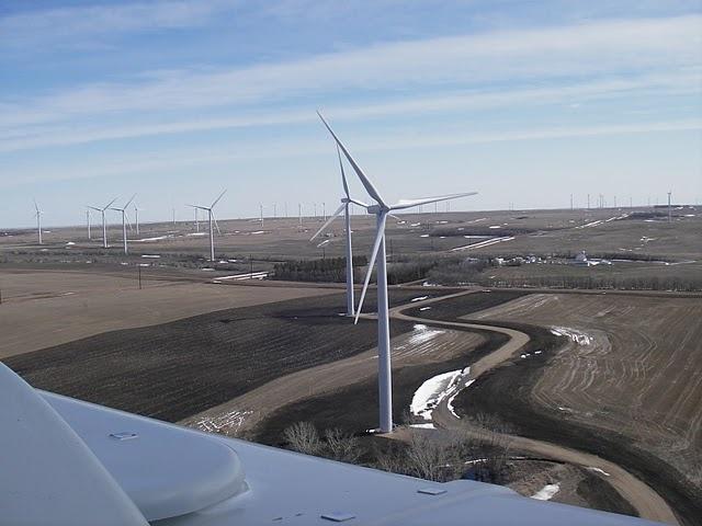Ashtabula II windmolenpark in North Dakota
