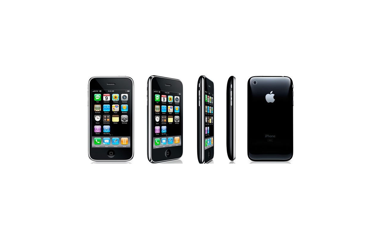 Apple iPhone 3G 16GB Zwart