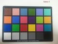 Kleurkaart: Galaxy S