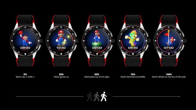 jam tangan super mario
