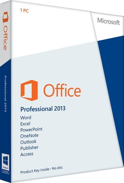 Microsoft Office 2013 Professional UK