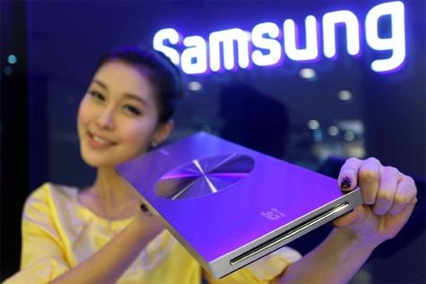 Samsung 3d-blu-ray-speler 23mm dun