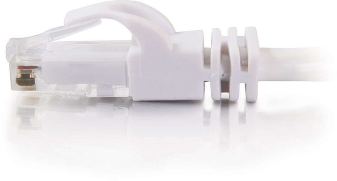 CablesToGo Cat6 Snagless Patch Cable White 20m