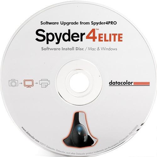 Datacolor Spyder 4 Pro to Elite Upgrade