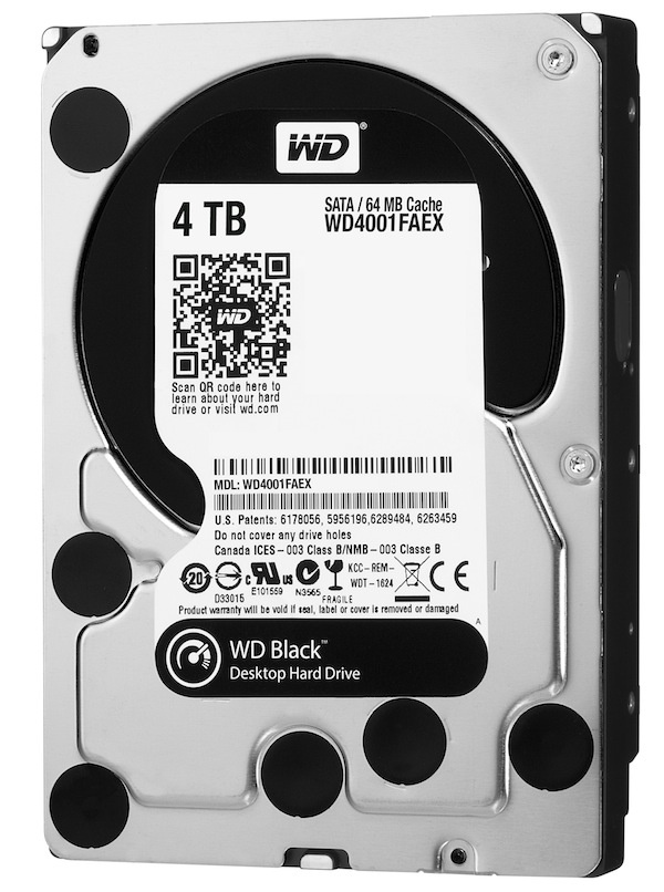 Western Digital 4TB Black