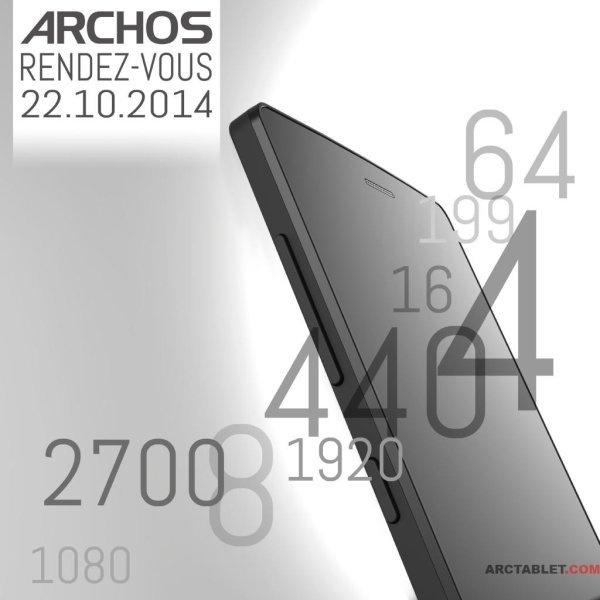 Aankondiging nieuw toestel Archos