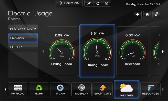 SilverStat 7 interface