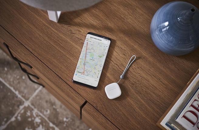 Samsung tracker met lte-m
