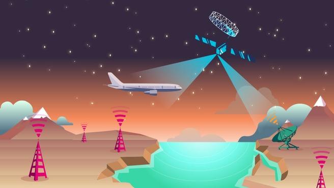 Europees vliegtuiginternet
