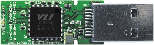 Usb 3.0-drive met Via Labs VL751-controller