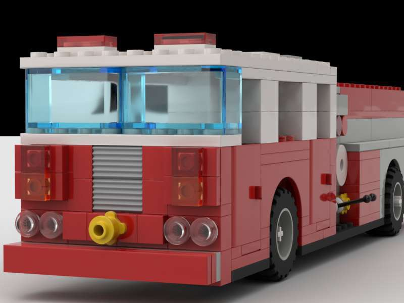 WIP Fire engine