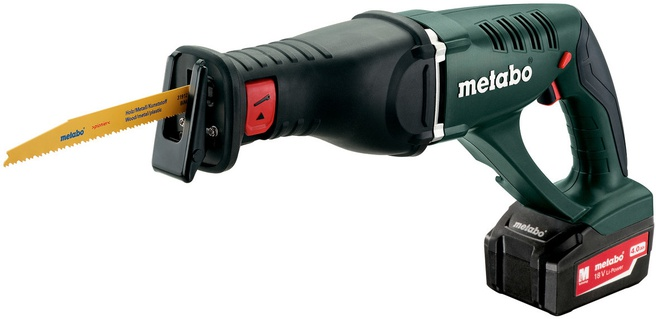 Metabo ASE 18 LTX (Koffer, 2x18V4Ah accu)