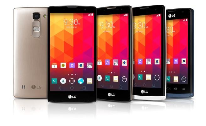 LG midrange telefoons 2015