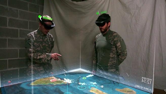 HoloLens Defensie