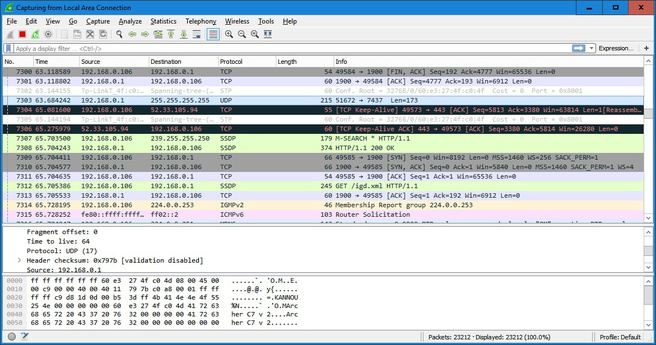 Wireshark 2.0
