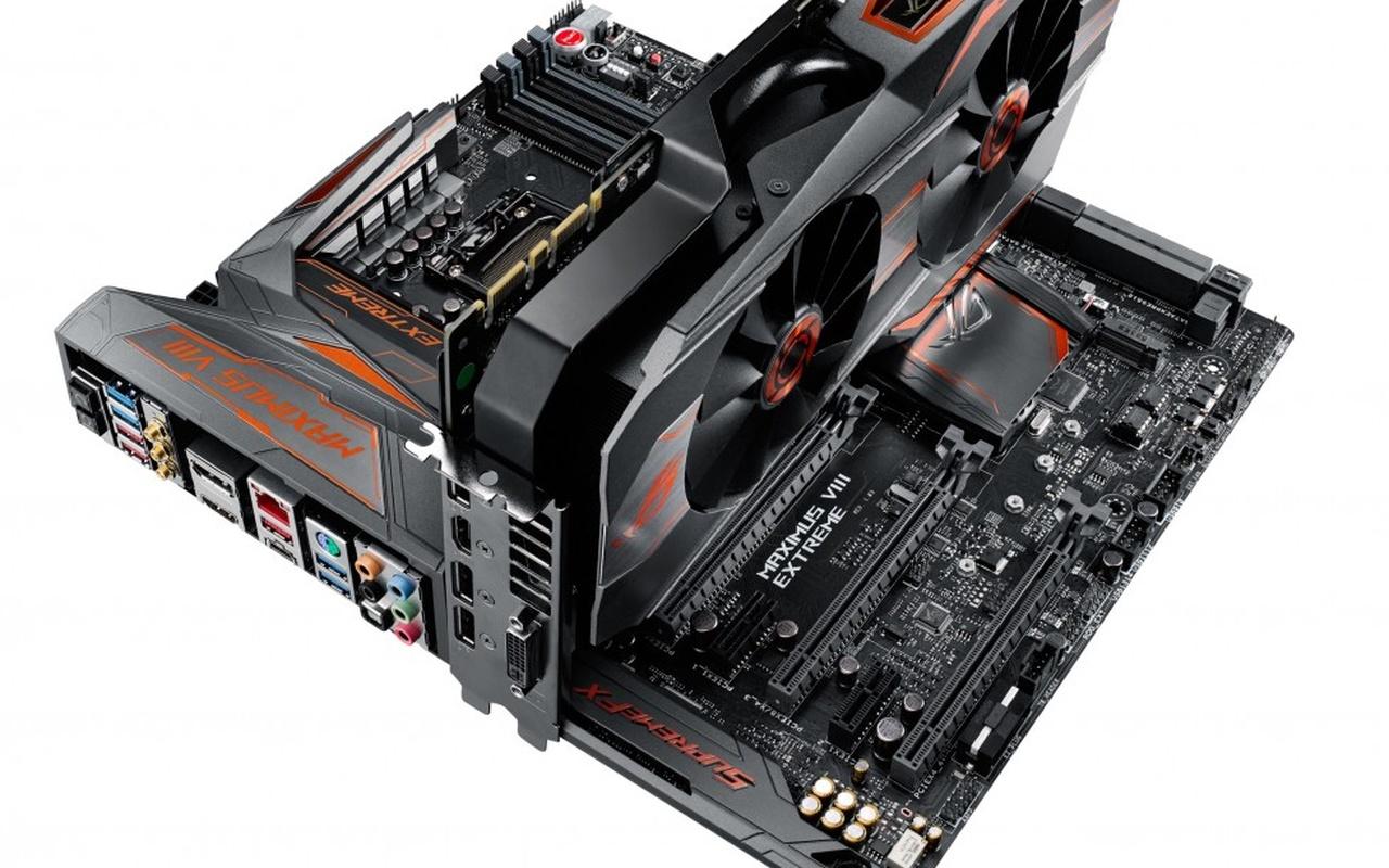 Asus Maximus VIII Extreme/Assembly  Matrix GTX 980 Ti