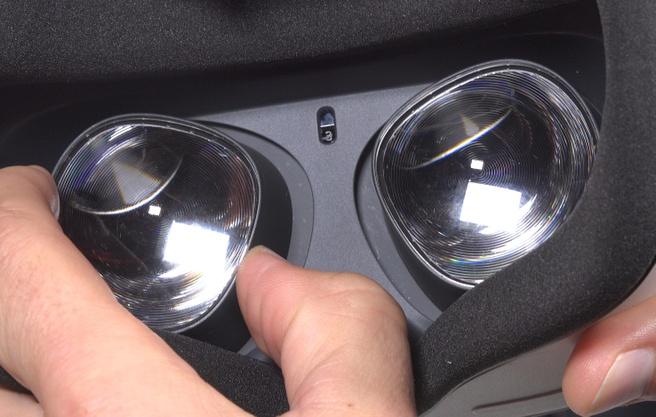Oculus Quest 2 IPD aanpassing