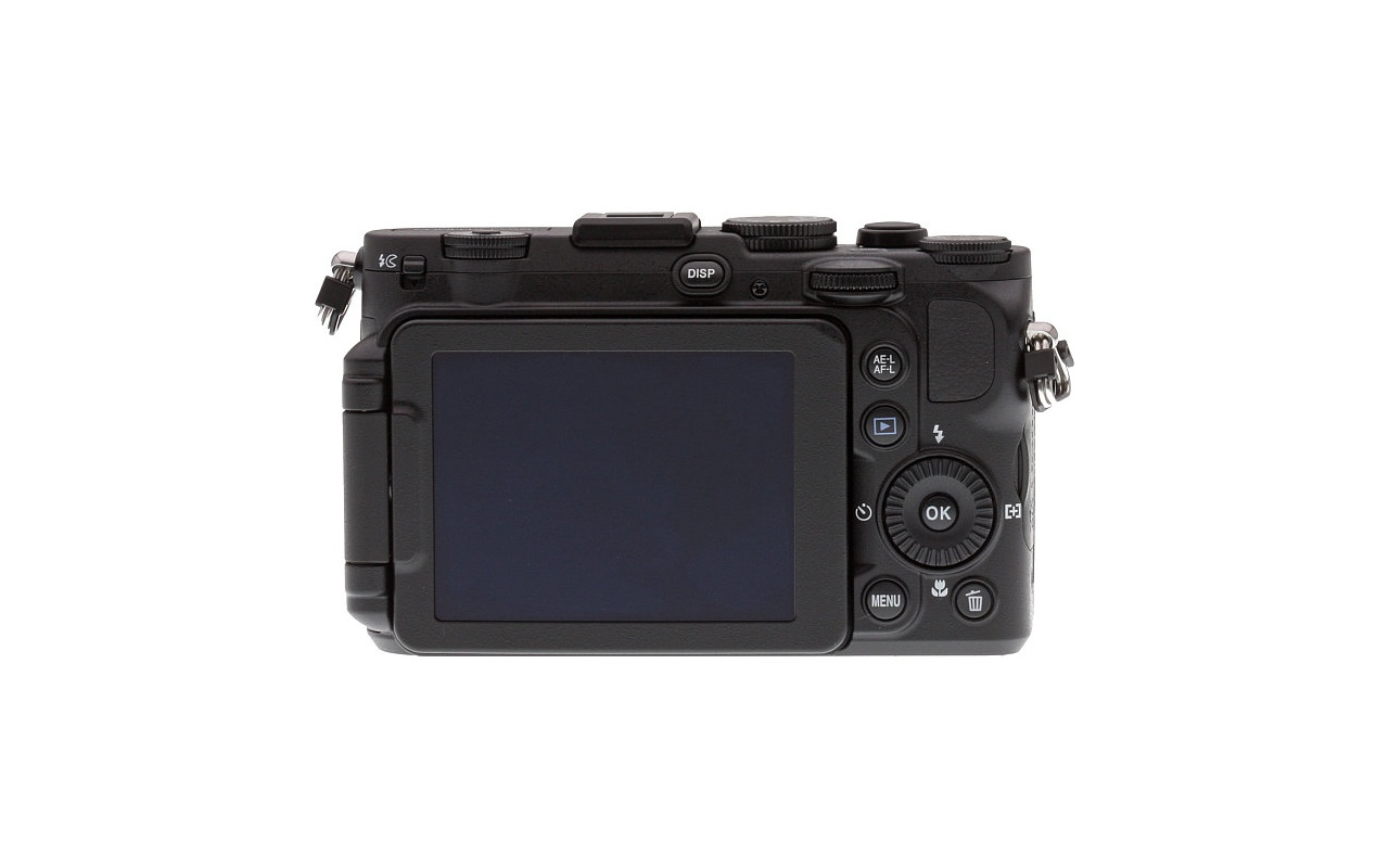 Nikon Coolpix P7700 back