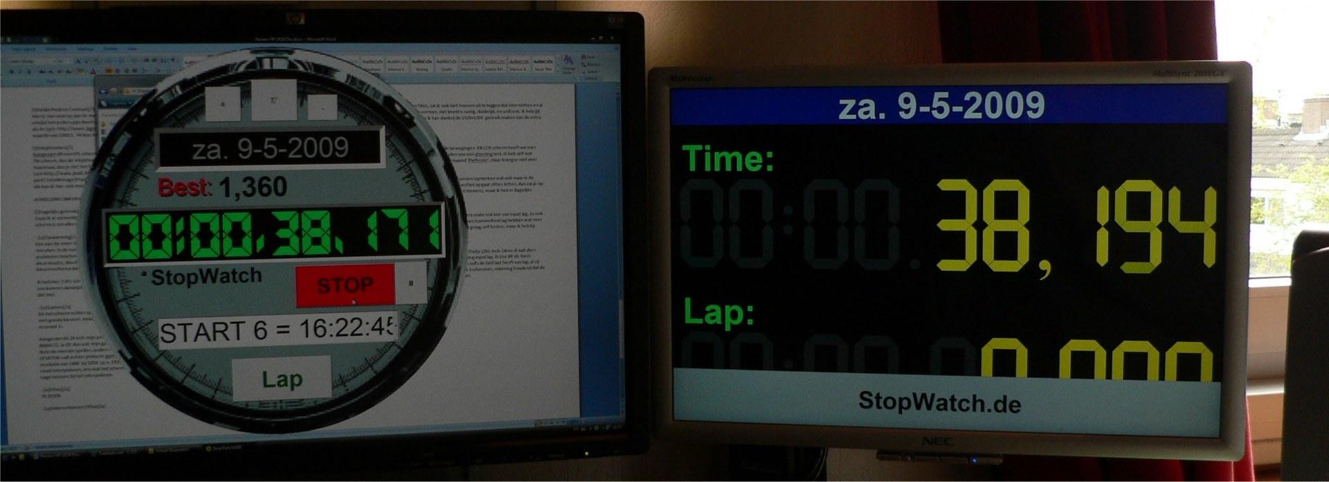 Lag test foto: HP vs NEC
