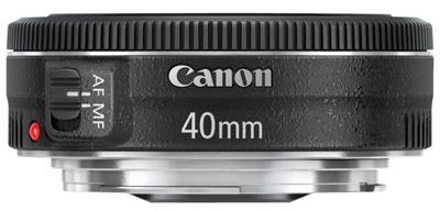 Canon 40mm f/2,8 pancake lens