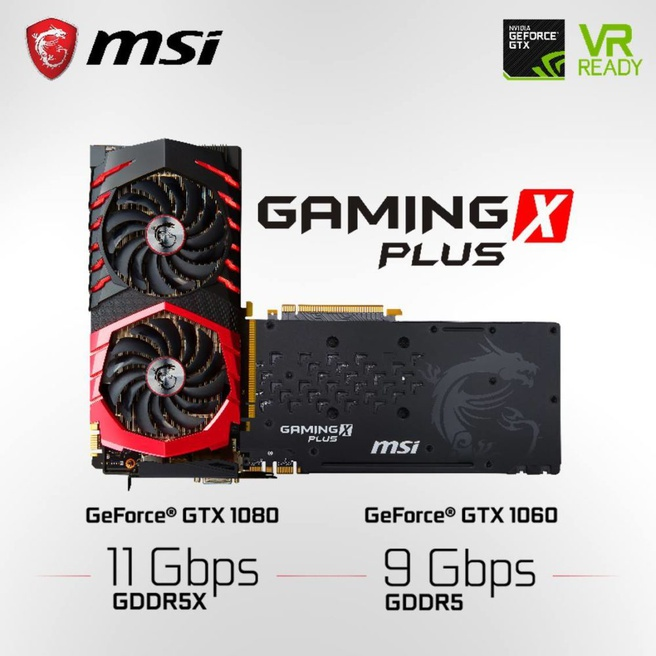 MSI GTX 1080 Gaming X Plus