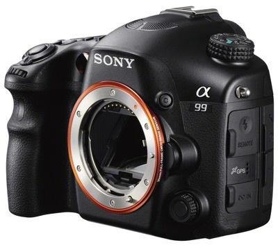 Sony Alpha A99 handson inleiding