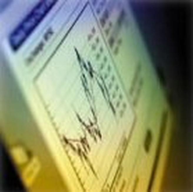Illustratieve grafiek (winst, verlies, groei) - groter