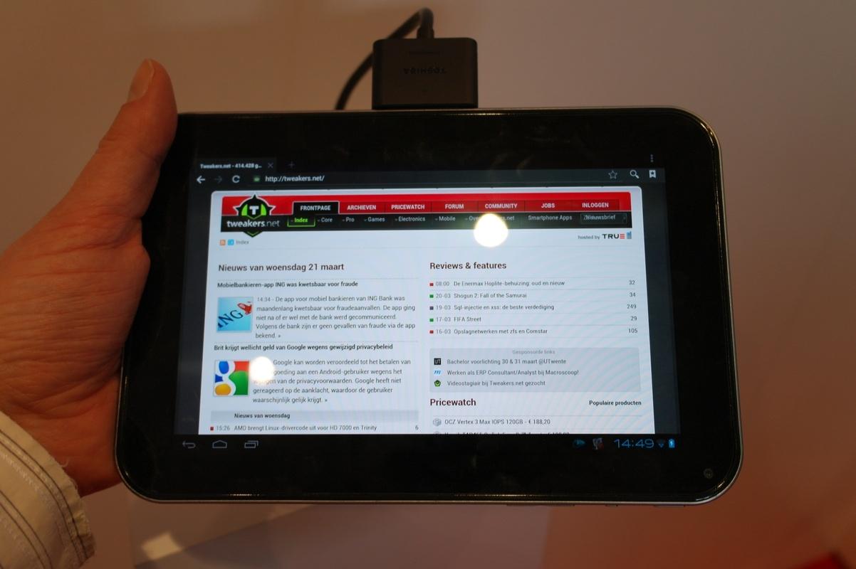 Wel Of Geen Tablet.Toshiba Hint Op Komst 7 7 Tablet Met Amoled Scherm