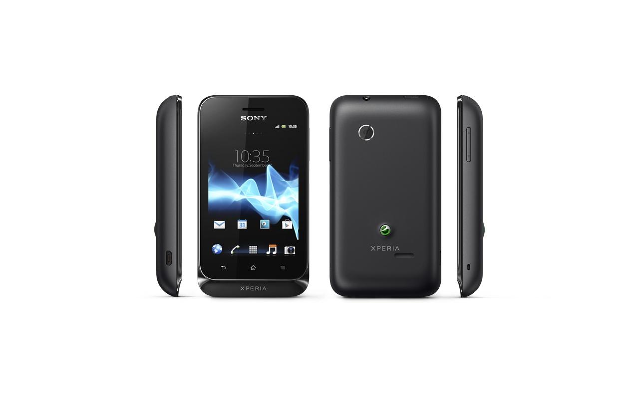 Sony Xperia tipo Zwart