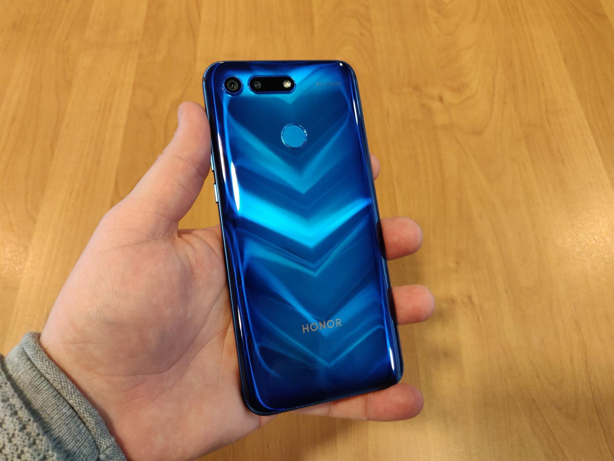 Honor View 20 Phantom Blue (Moschino Edition)