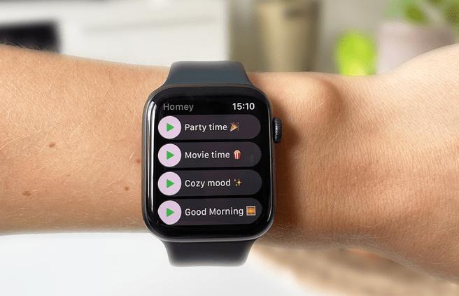 Homey Apple Watch