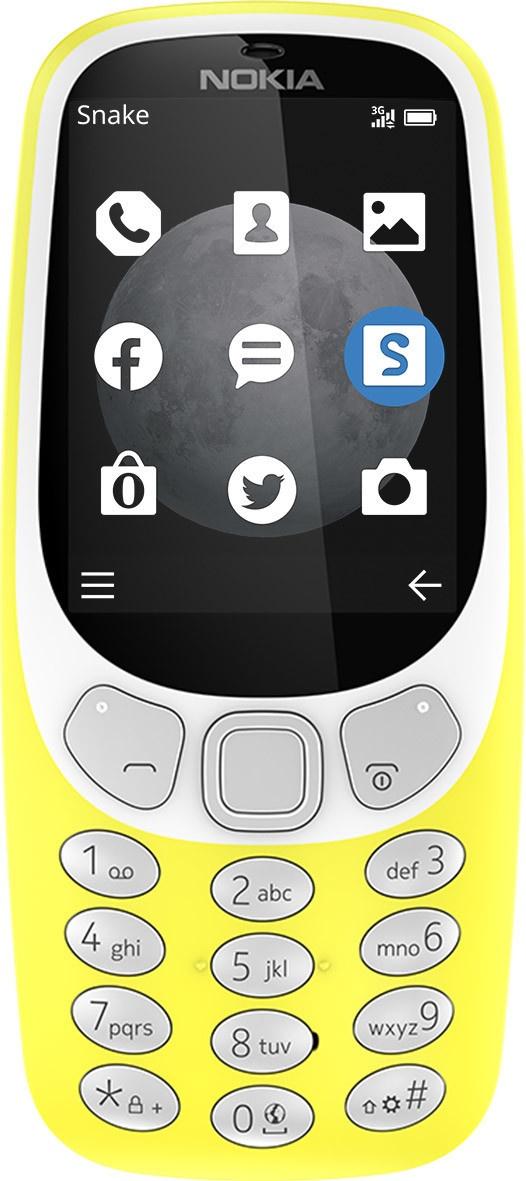 Nokia 3310 3G (2017) Geel