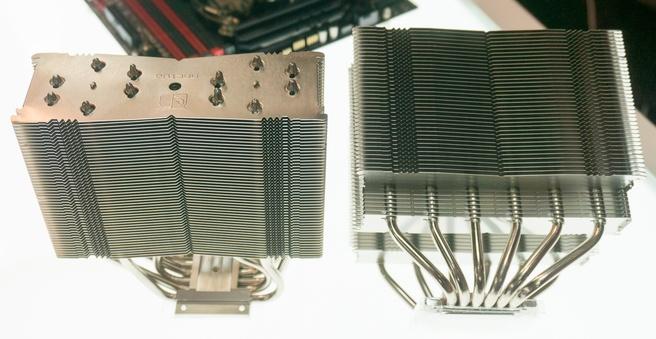 Noctua asymmetrische koelers