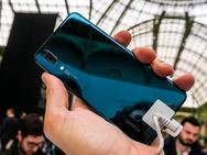 Huawei P20 productfoto's