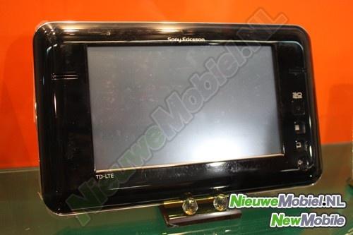 Prototype Sony Ericsson Android-tablet met lte