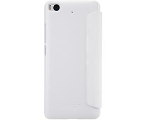 Nillkin New Sparkle S-View Book Case voor Xiaomi Mi5S - Wit