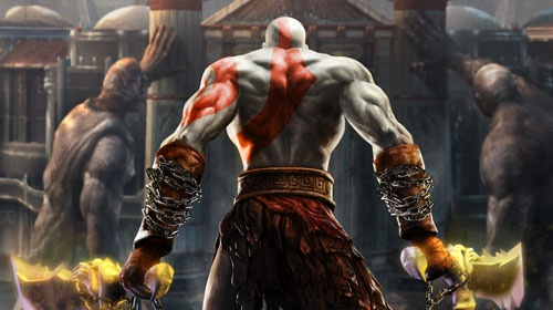 Kratos uit God of War