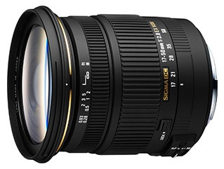 Sigma 17-50mm F2.8 zonder os