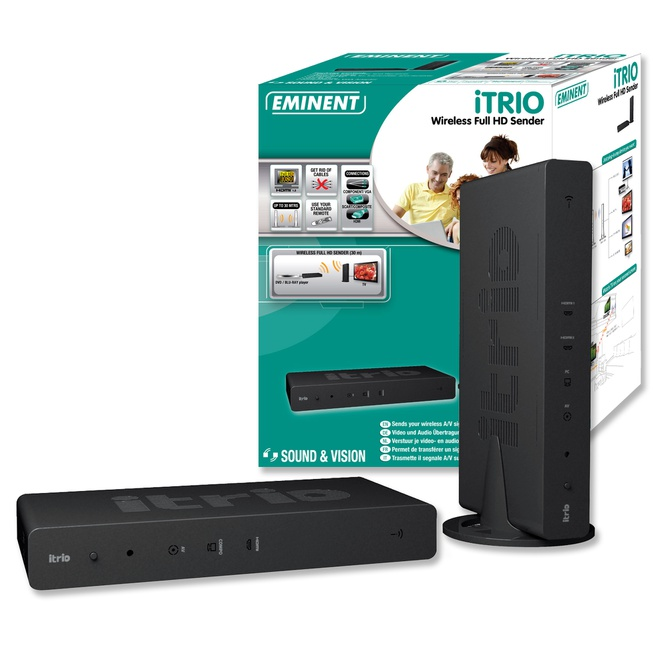 Eminent EM7100 iTRIO Wireless HD Zender