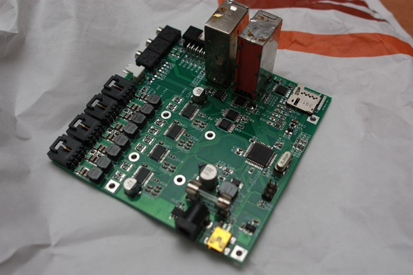 Overview of the MiXley Rev. 1.1 board