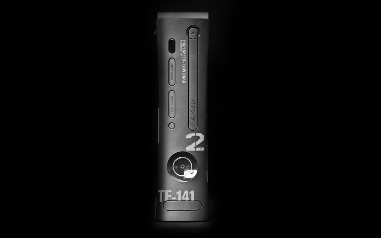Xbox 360 met 250G hd, gebundeld met Modern Warfare 2